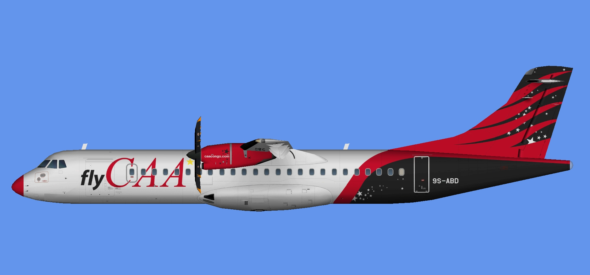 Compagnie Africaine d'Aviation ATR 72-500