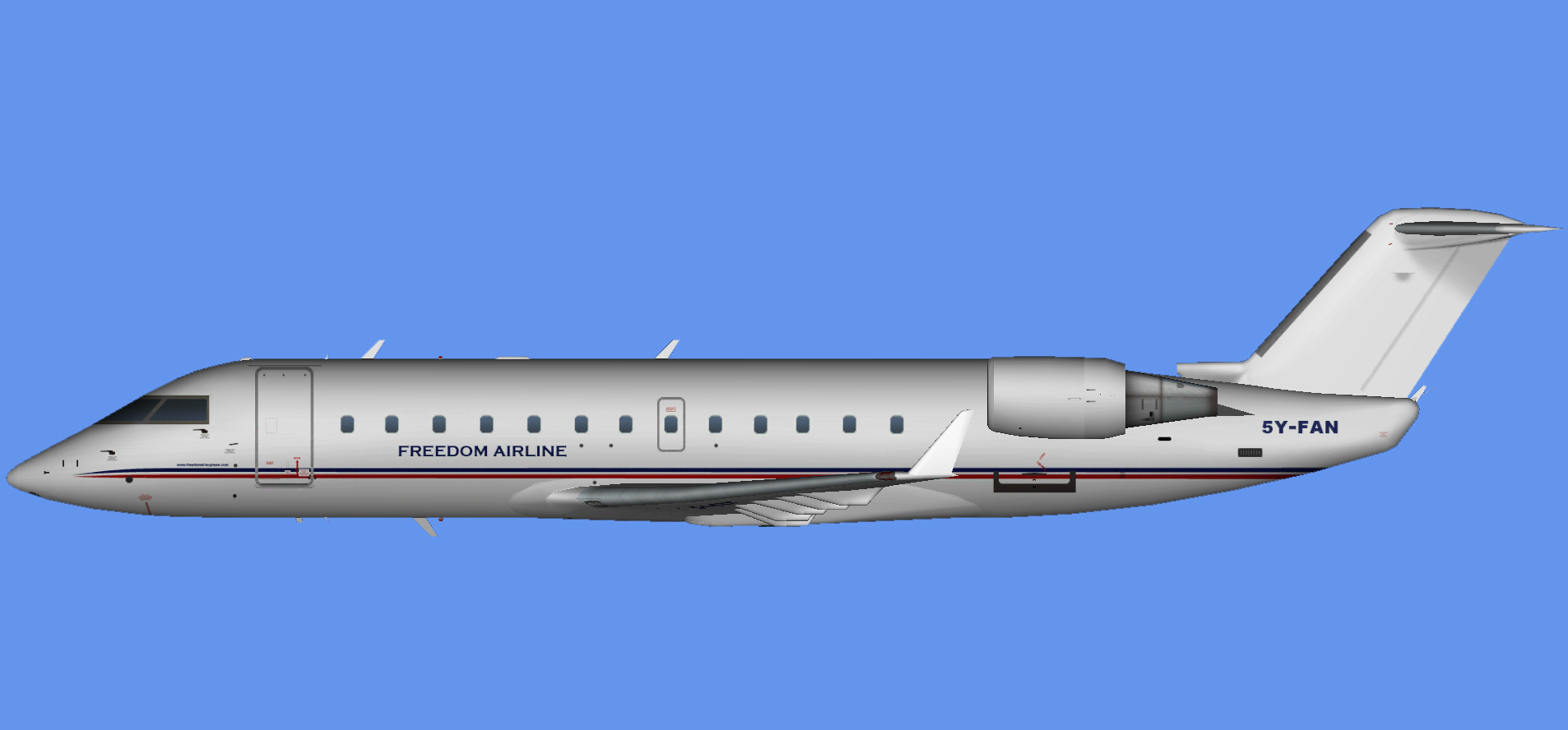 Freedom Airline Bombardier CRJ-200