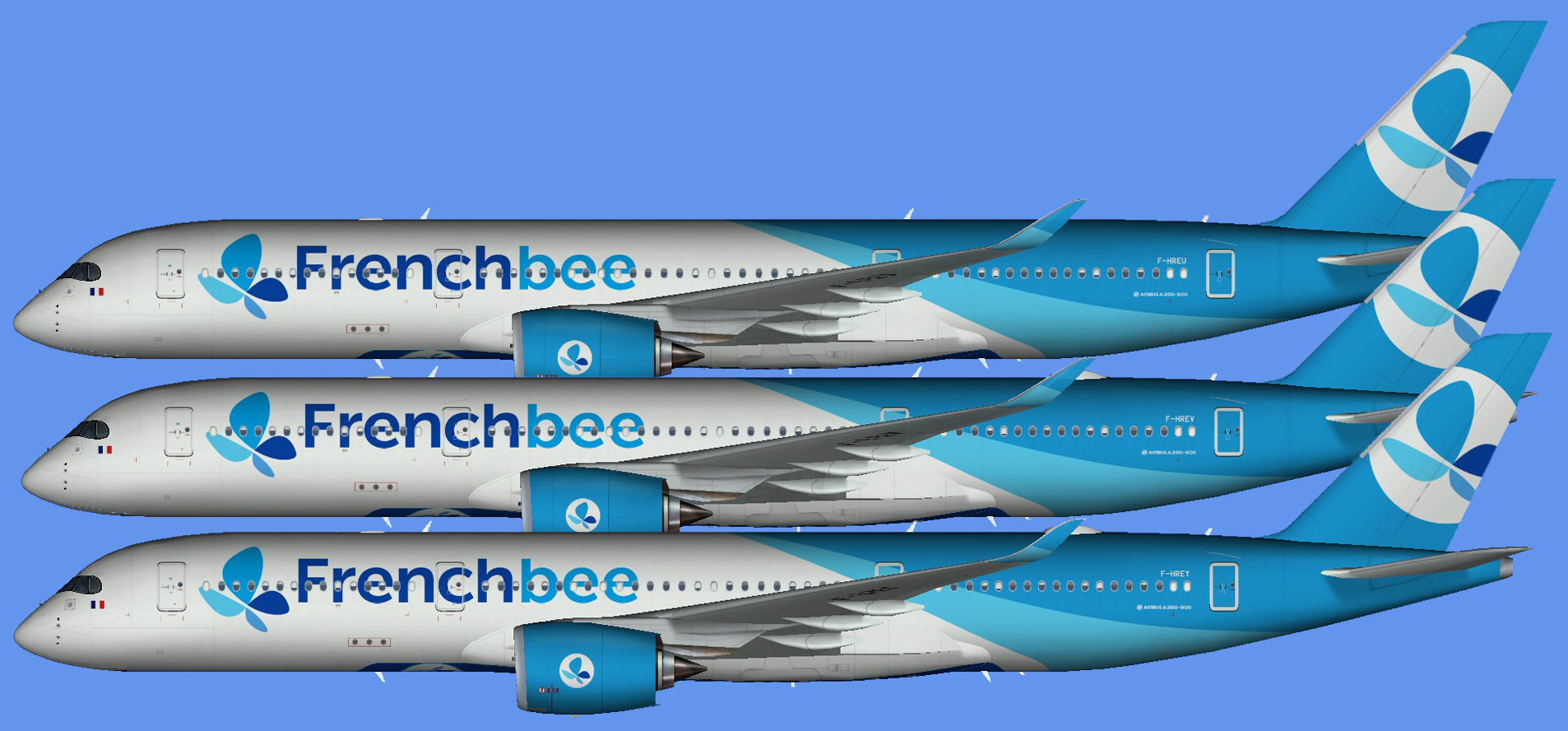 French Bee A350-900 (FSP)