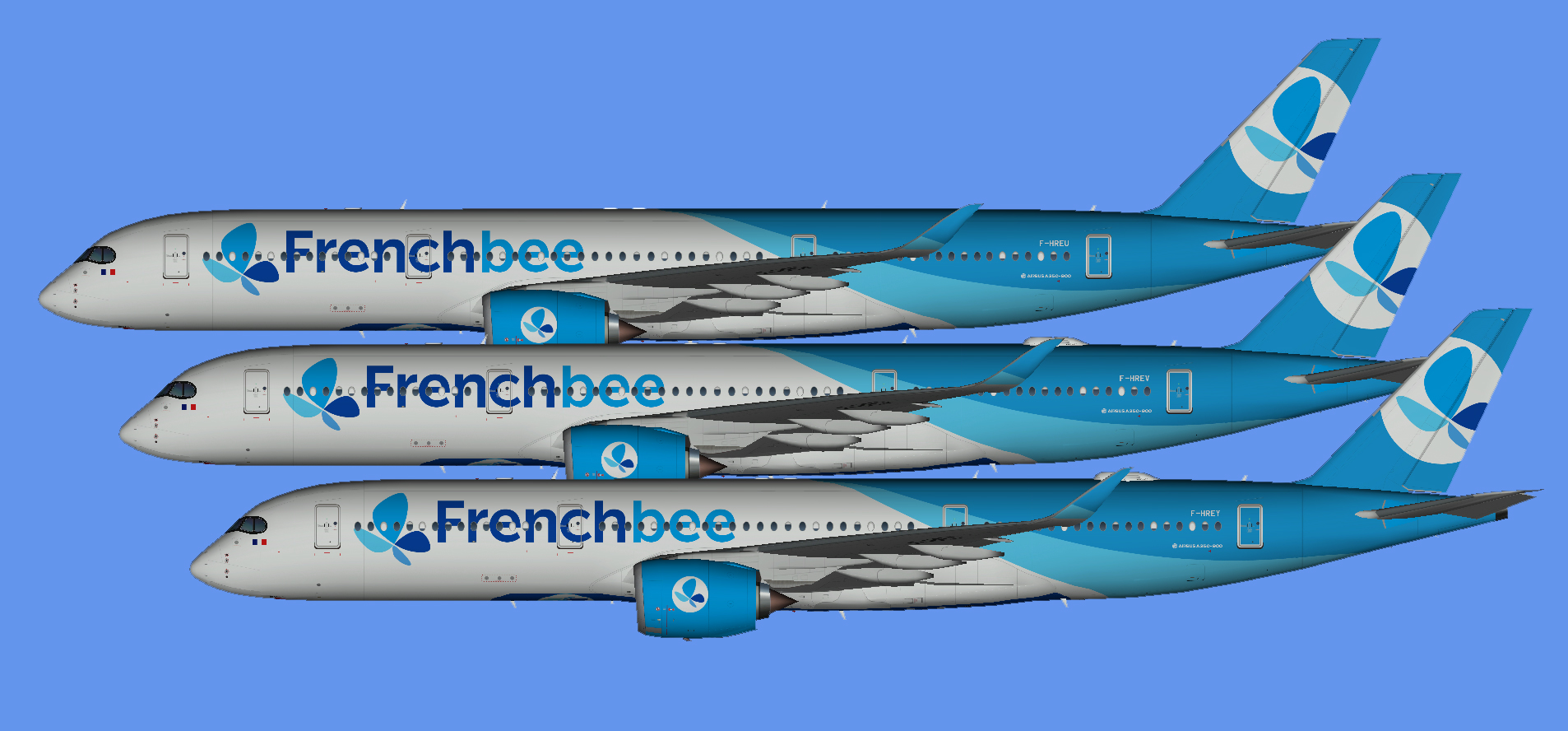 French Bee A350-900 (UTT)