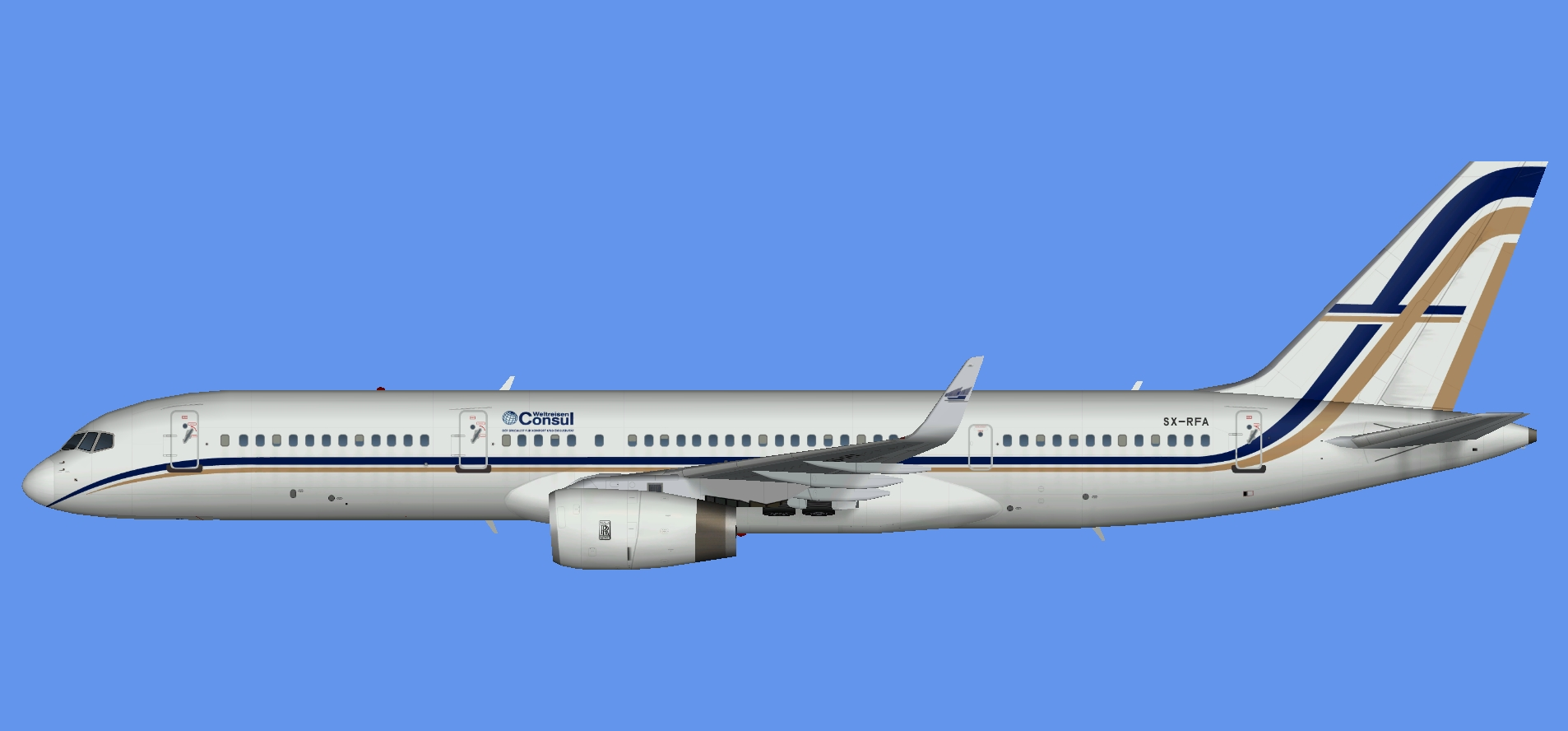 Gainjet Aviation Boeing 757-200