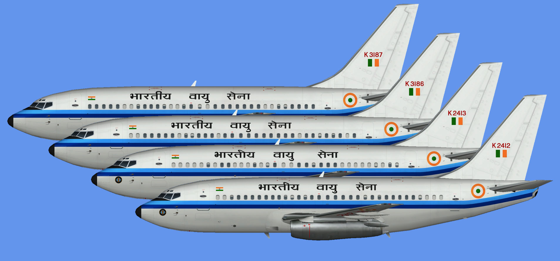 Indian Air Force Boeing 737-200