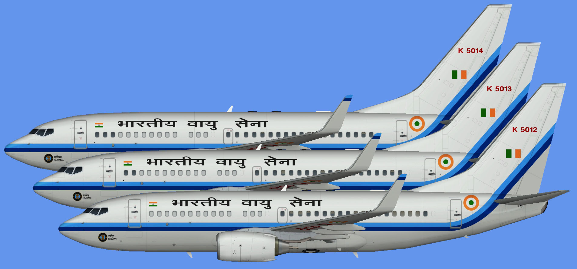 Indian Air Force Boeing 737-700w (BBJ)
