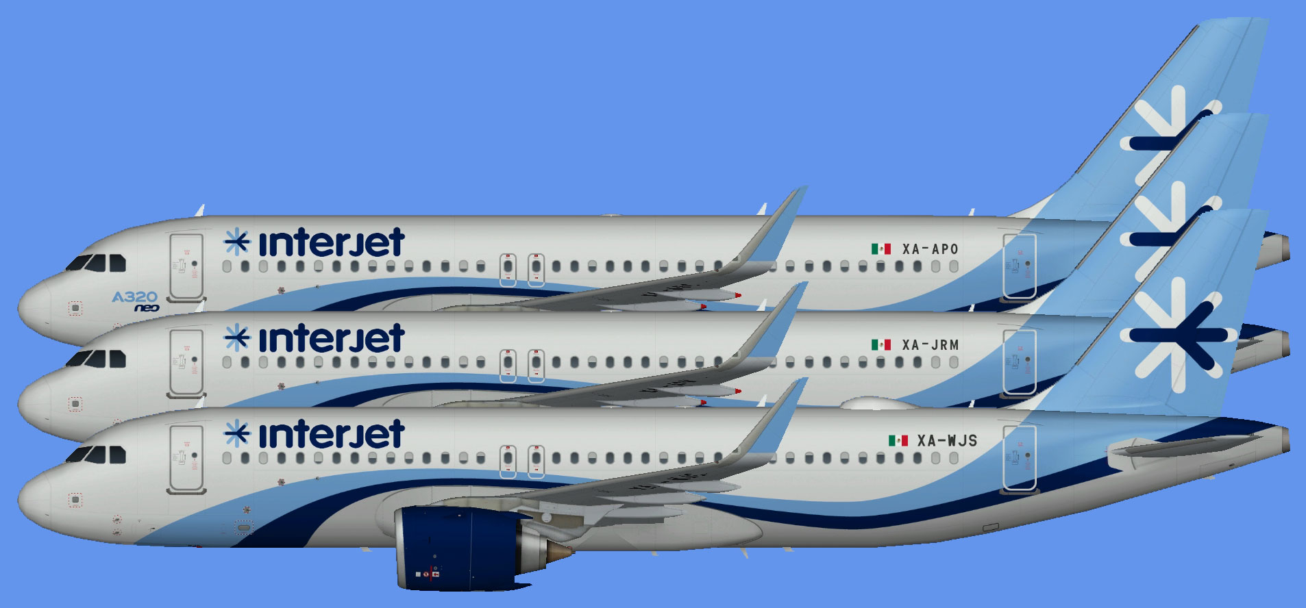 Interjet Airbus A320 NEO