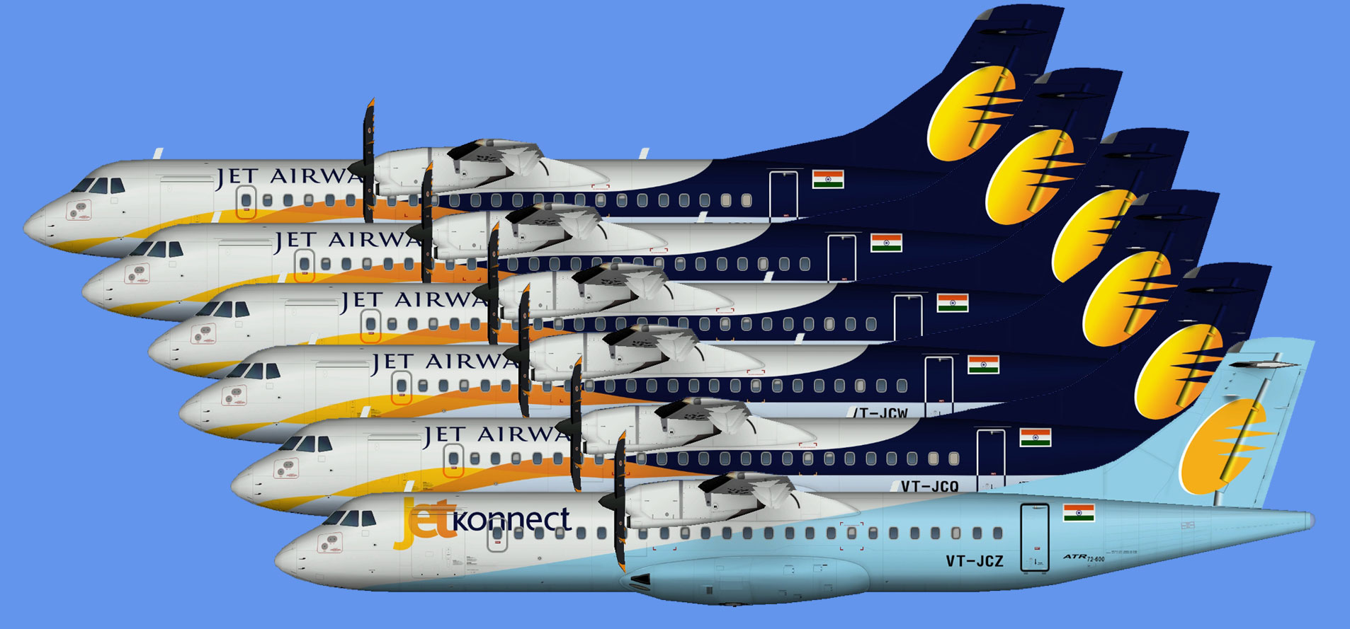 Jet Airways ATR 72