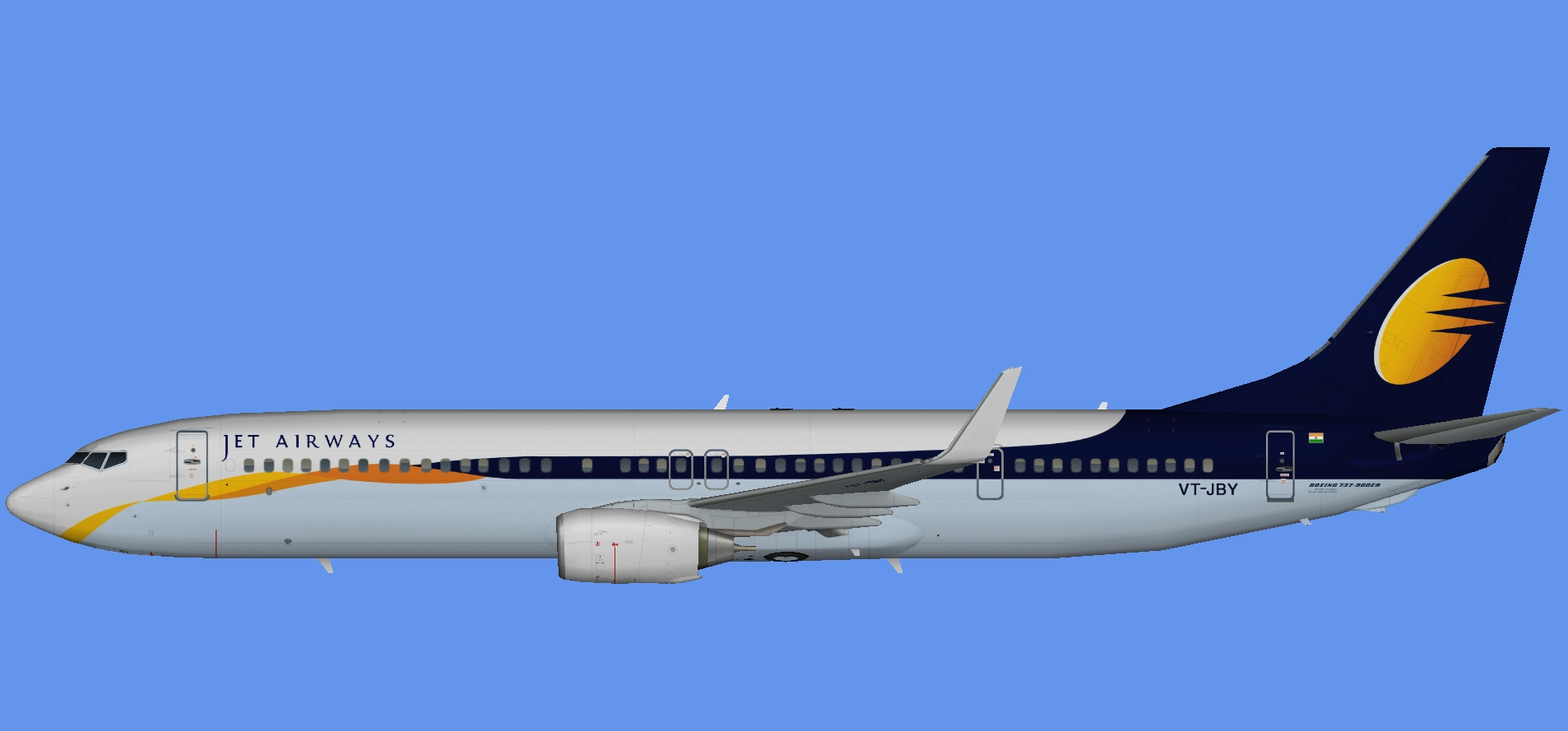 Jet Airways Boeing 737-900ER