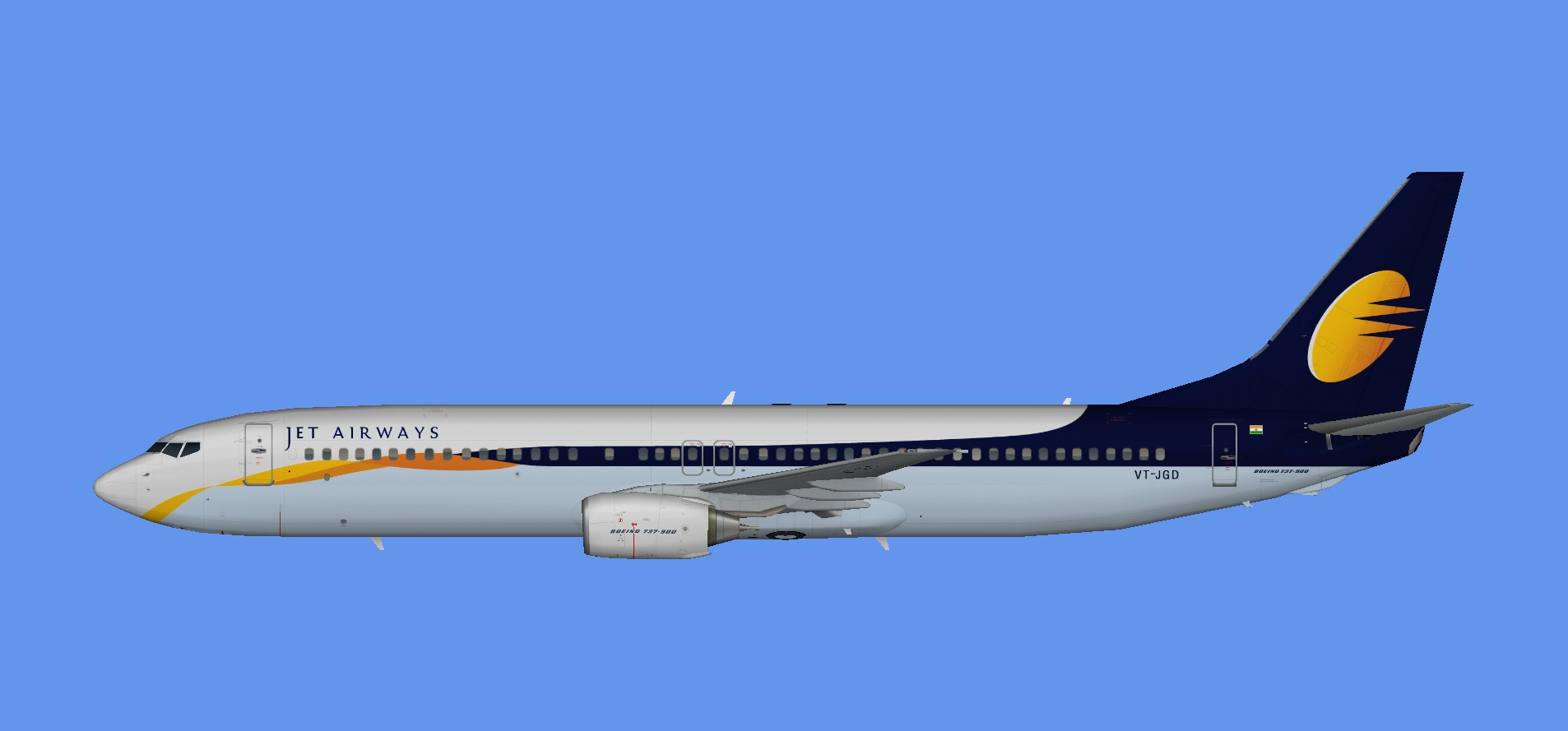 Jet Airways Boeing 737-900