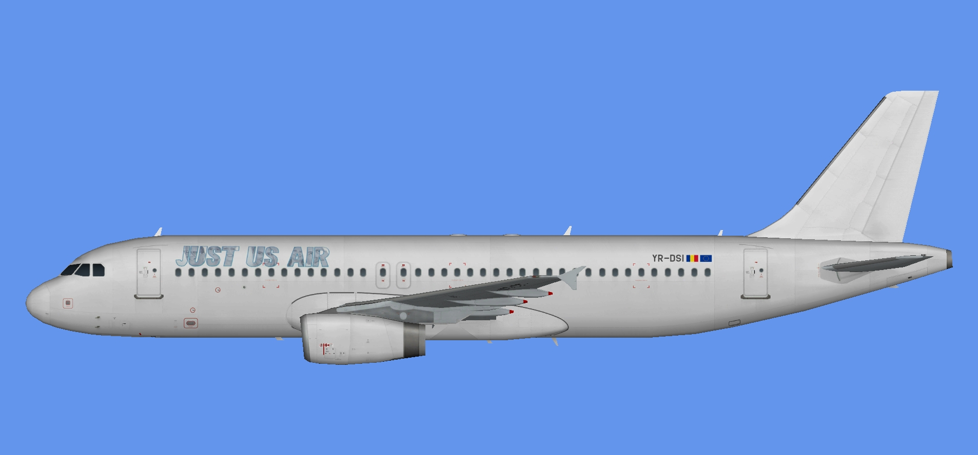 Just-Us Air Airbus A320