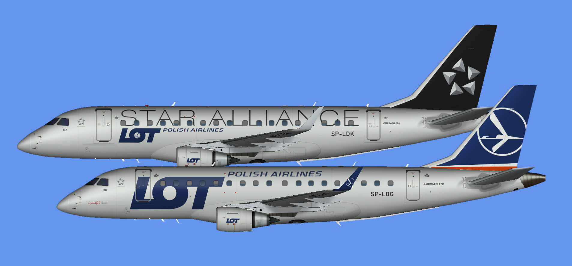 LOT Embraer E-170 (RFSL)