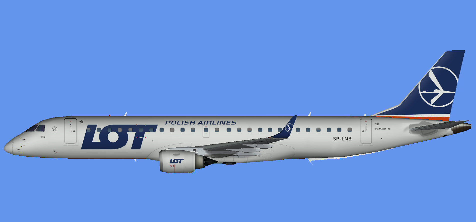LOT Embraer E-190