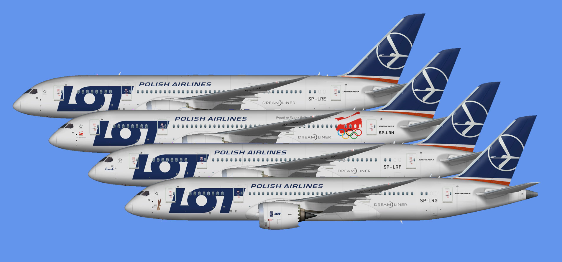 LOT Polish Airlines Boeing 787-8 (FSP)