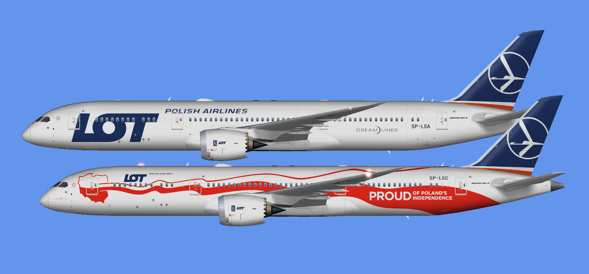 LOT Polish Airlines Boeing 737-8 MAX (FSP) - The Flying