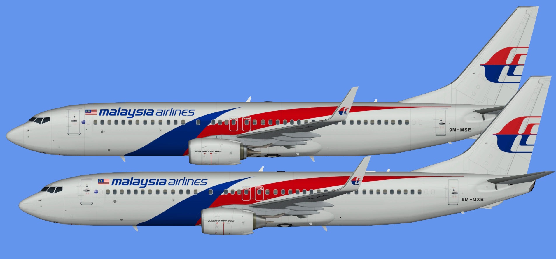 Malaysia Airlines  737-800 NC