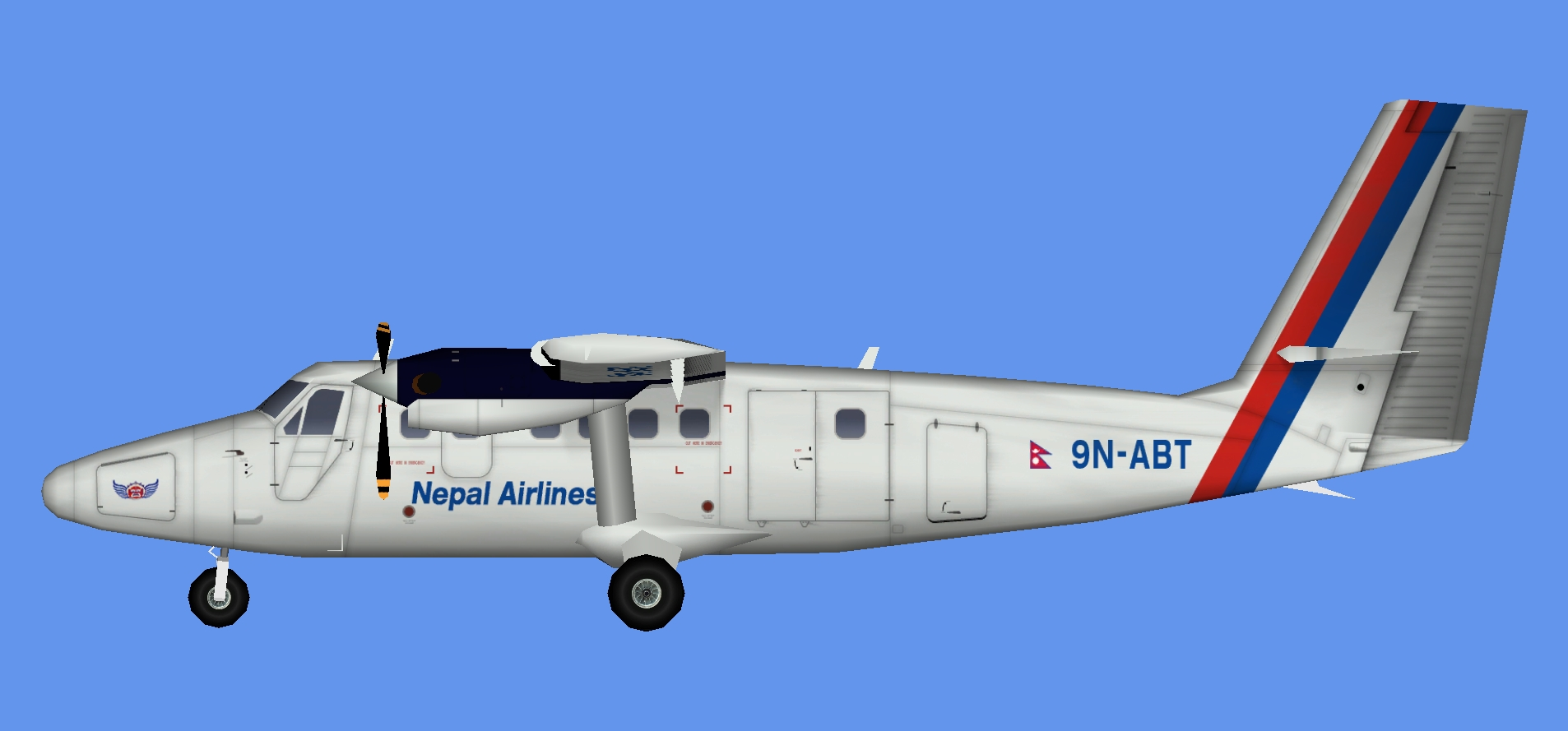 Nepal Airlines DHC-6 300