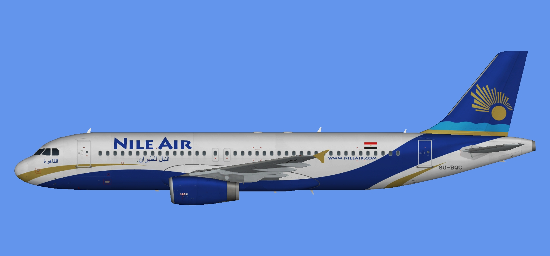 Nile Air Airbus A320 IAE