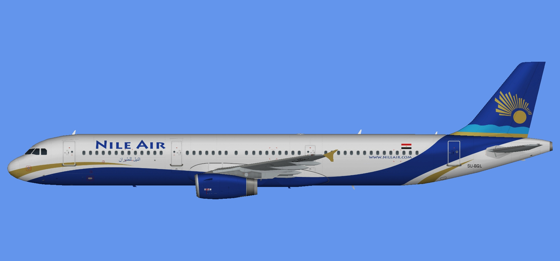Nile Air Airbus A321