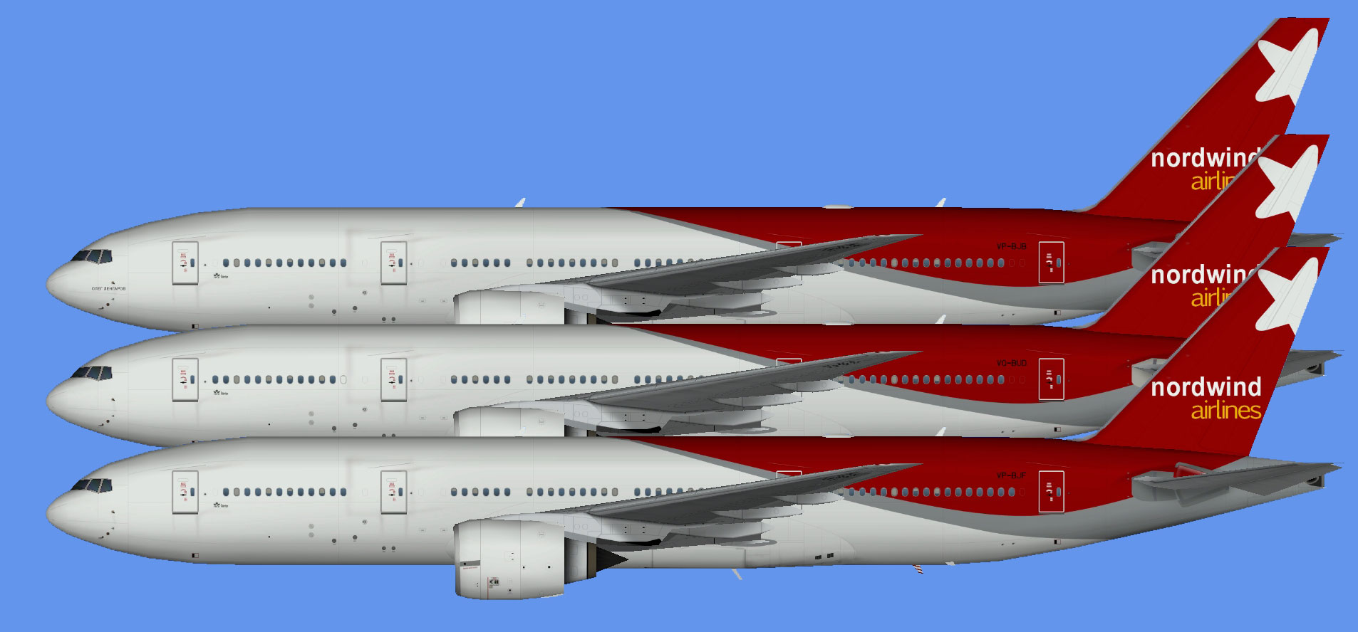 Nordwind Airlines 777-200 OC (TFS)