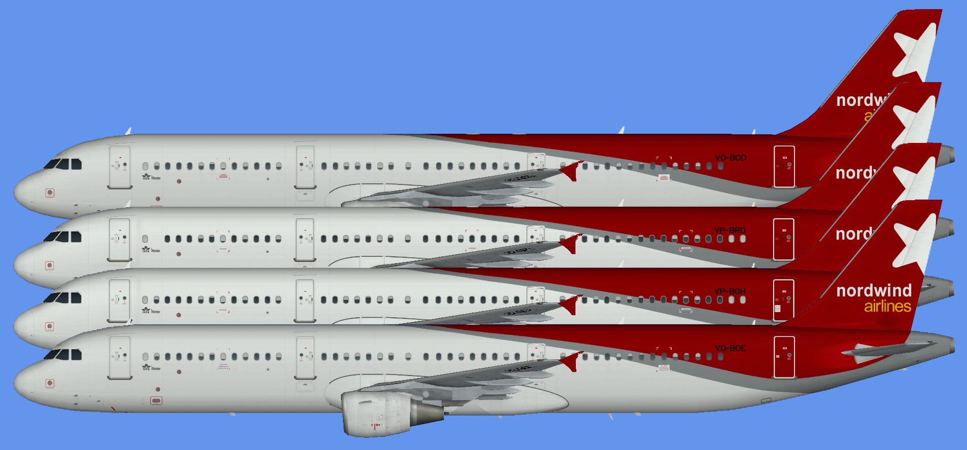 Nordwind Airlines Airbus A321 OC