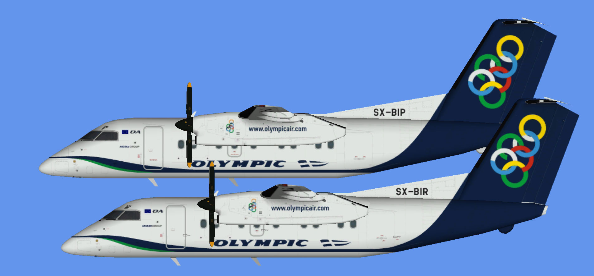 Olympic Air Dash 8-100