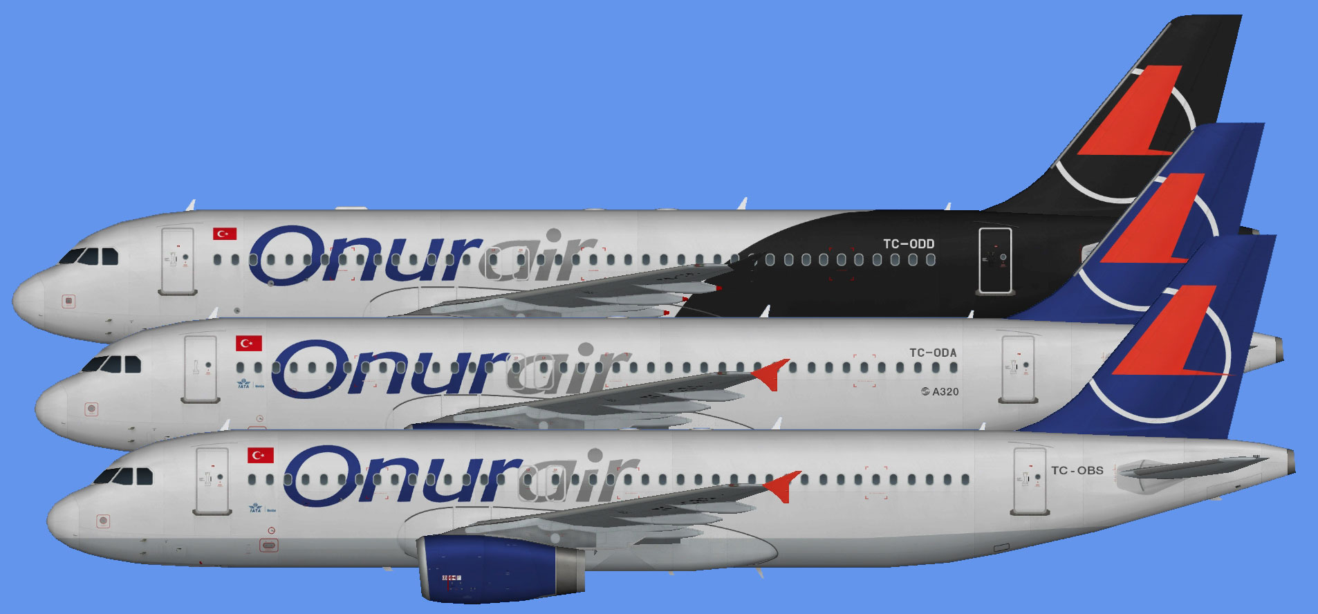 Onur Air Airbus A320