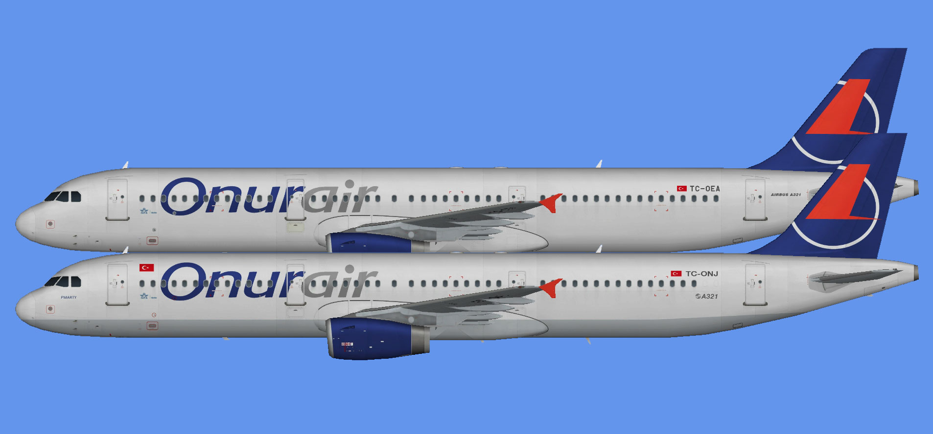 Onur Air Airbus A321