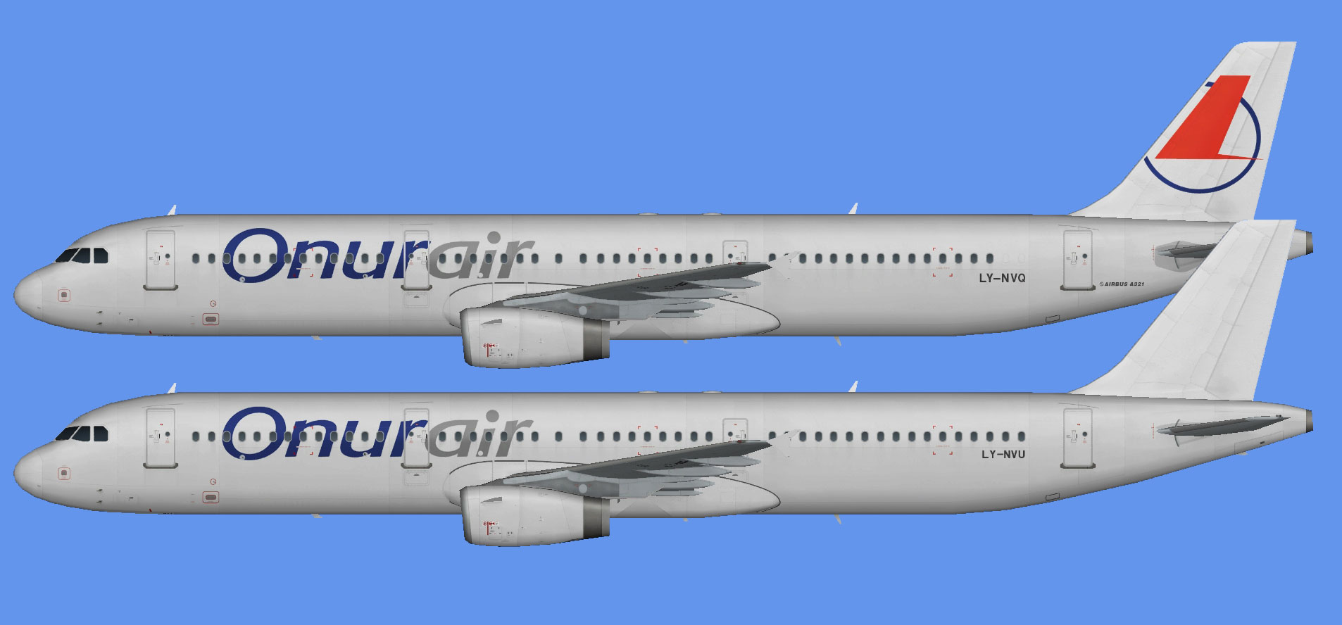 Onur Air Airbus A321 leases