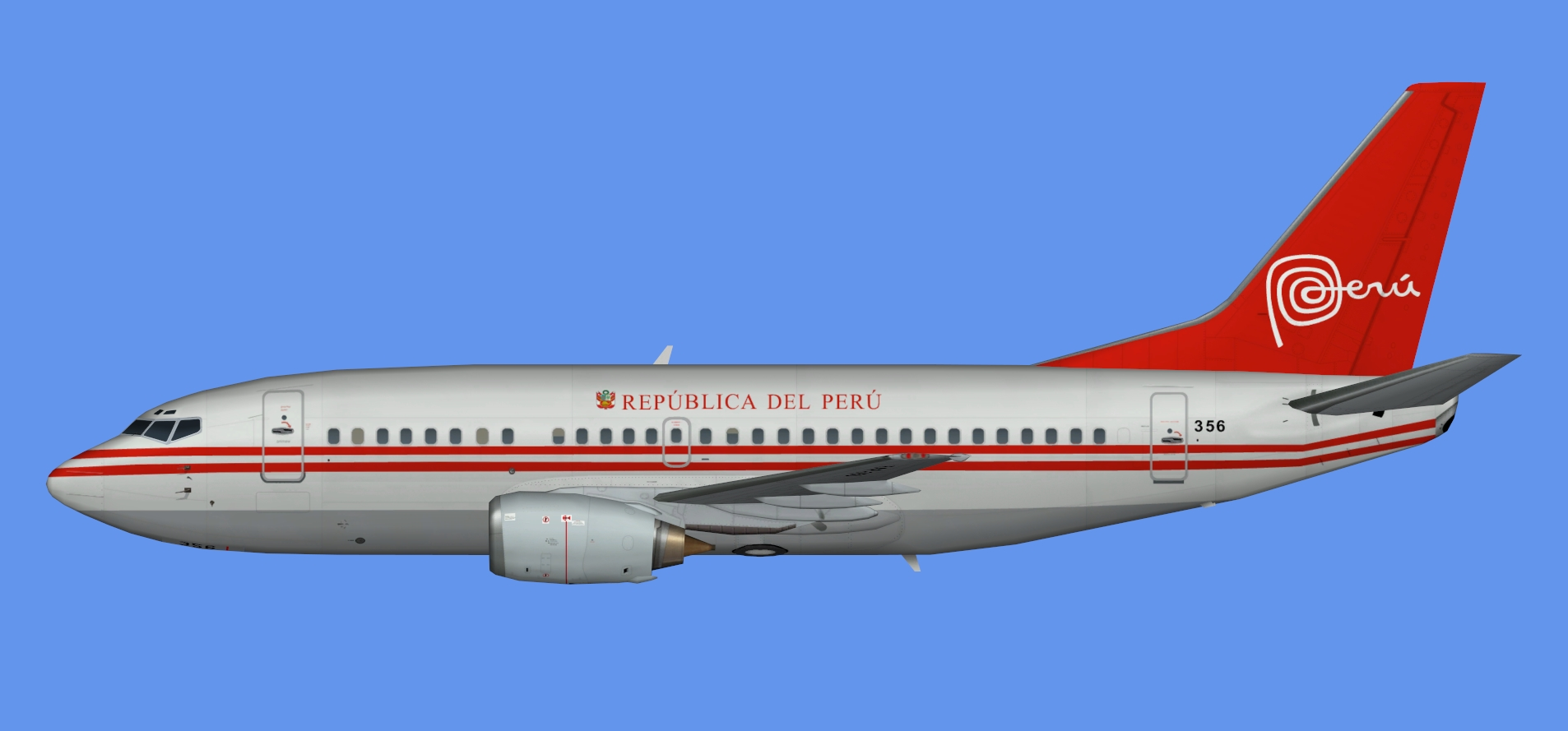 Peruvian Air Force Boeing 737-500