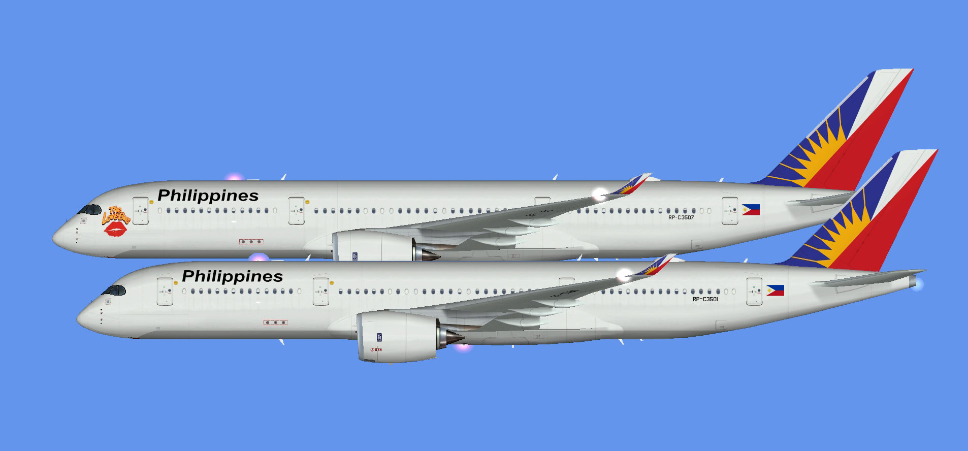 Philippine Airlines A350-900 (FSP)