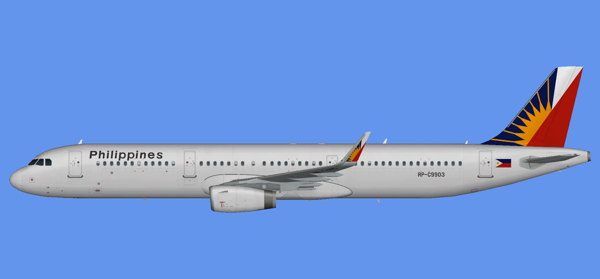 Philippine Airlines A321 sharklets