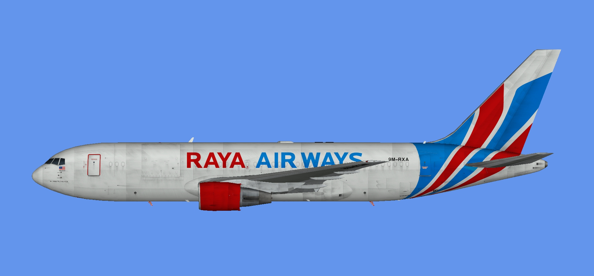 Raya Airways Boeing 767-200