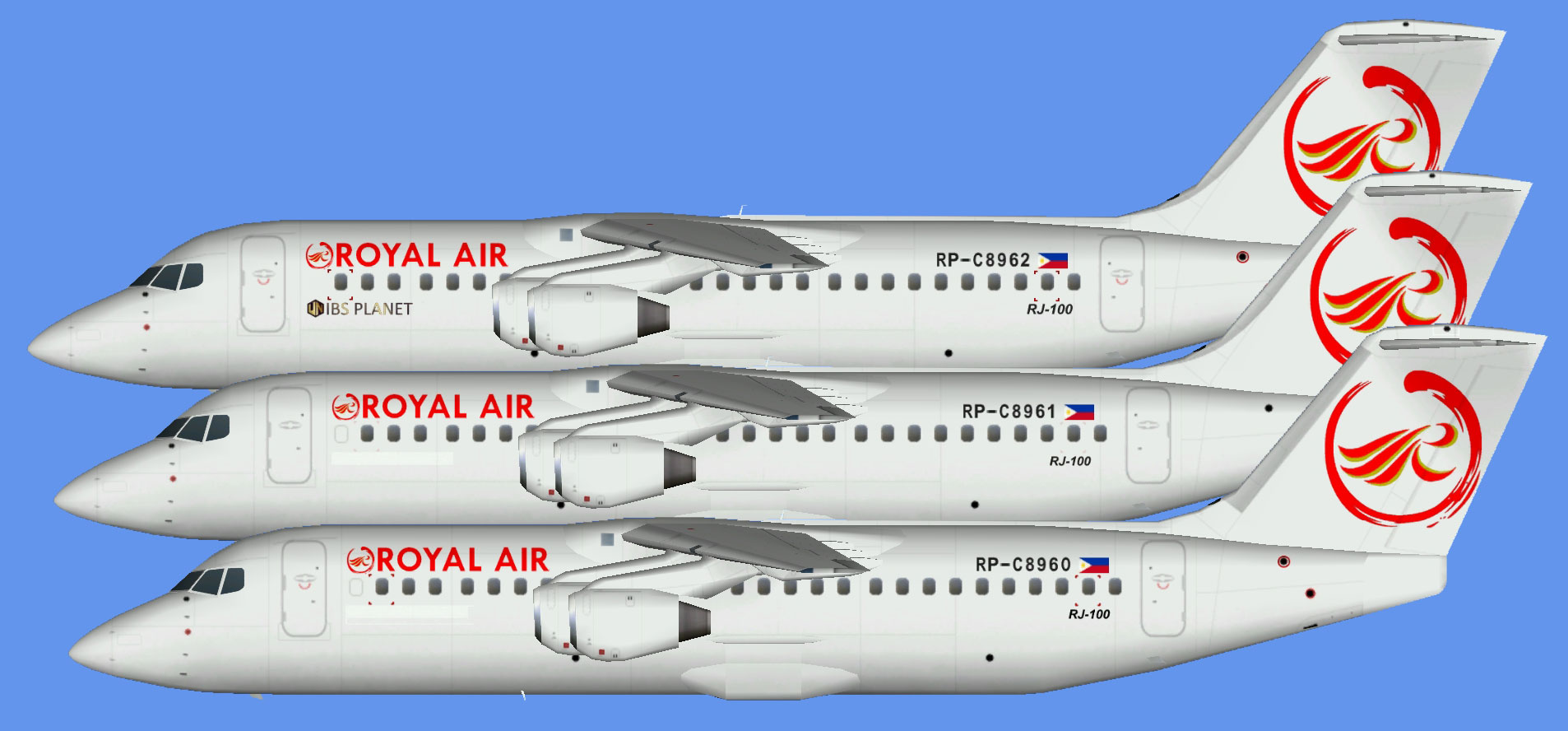 Royal Air Philippines RJ-100