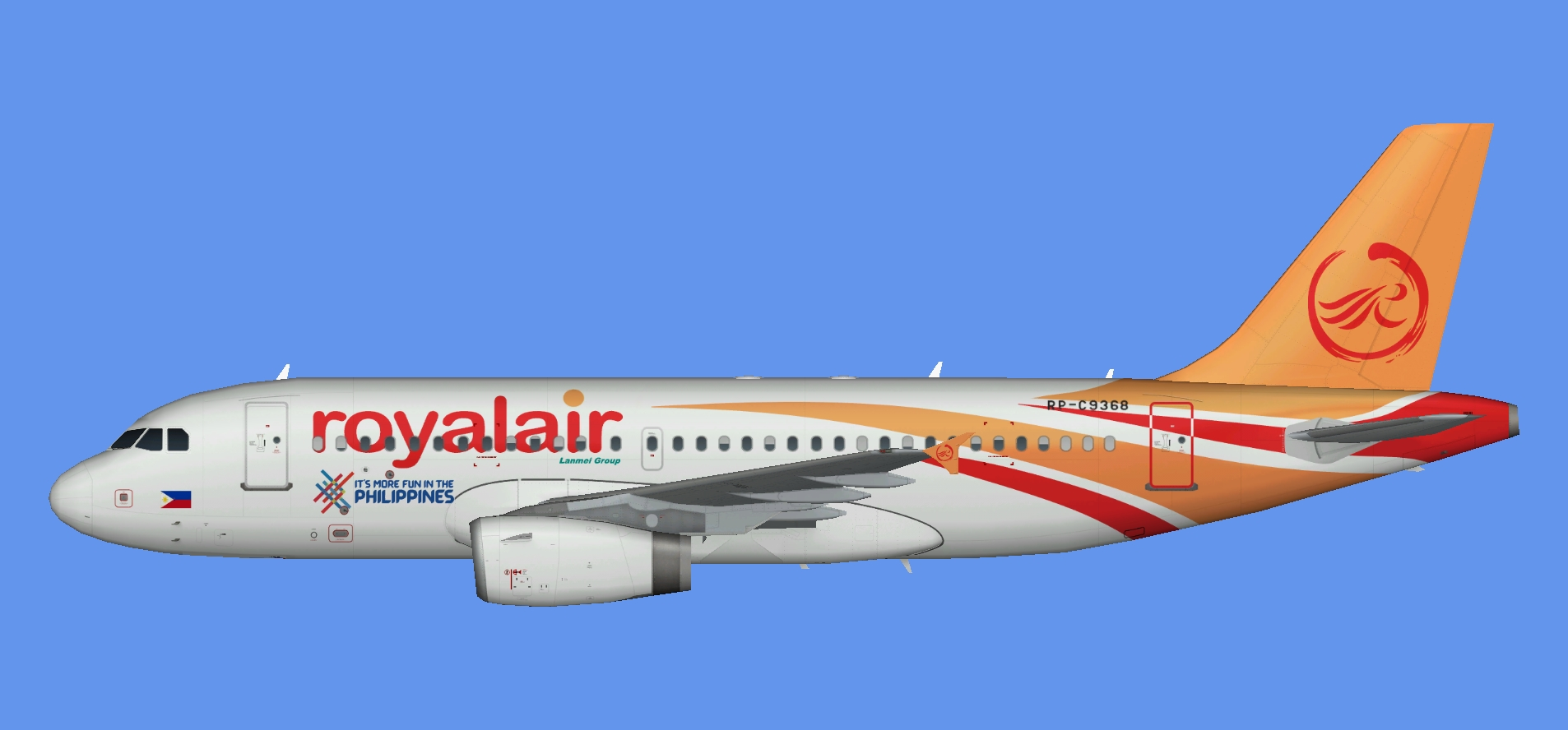 Royal Air Philippines Airbus A319