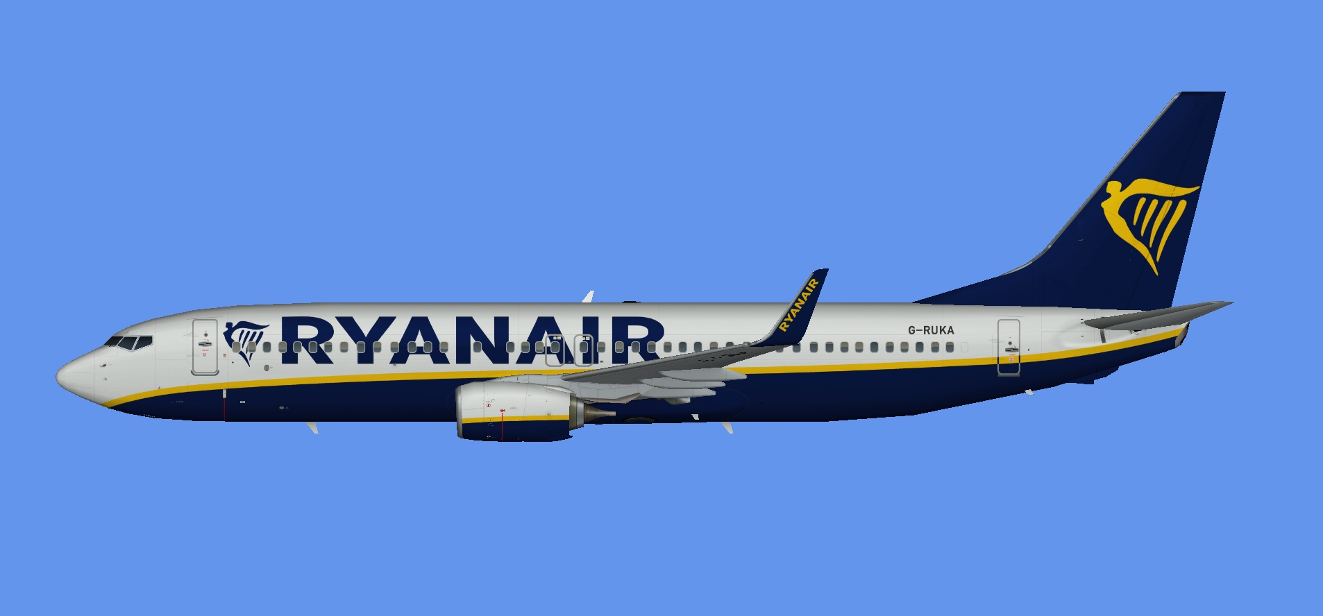 Ryanair UK Boeing 737-800