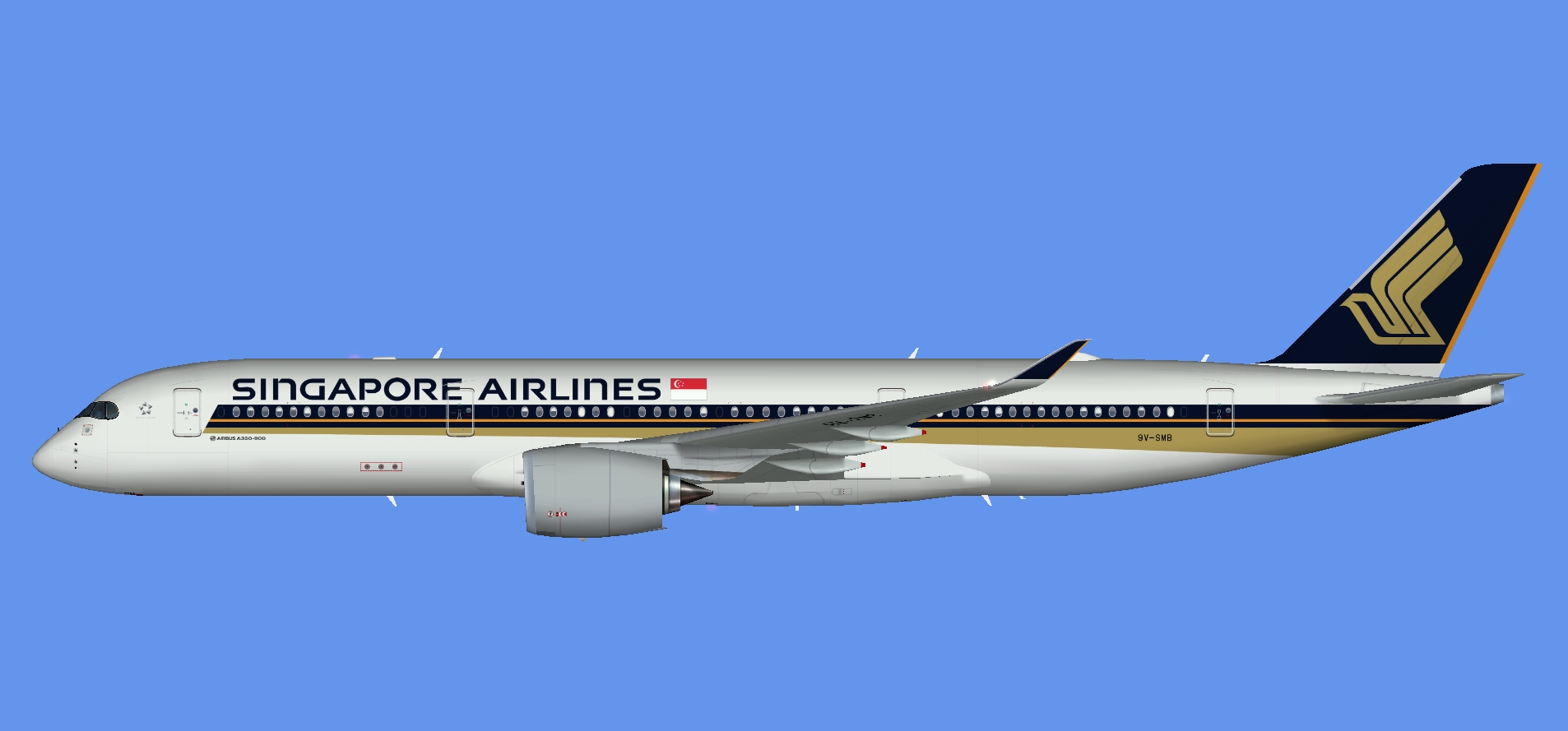 Singapore Airlines A350-900 (FSP)