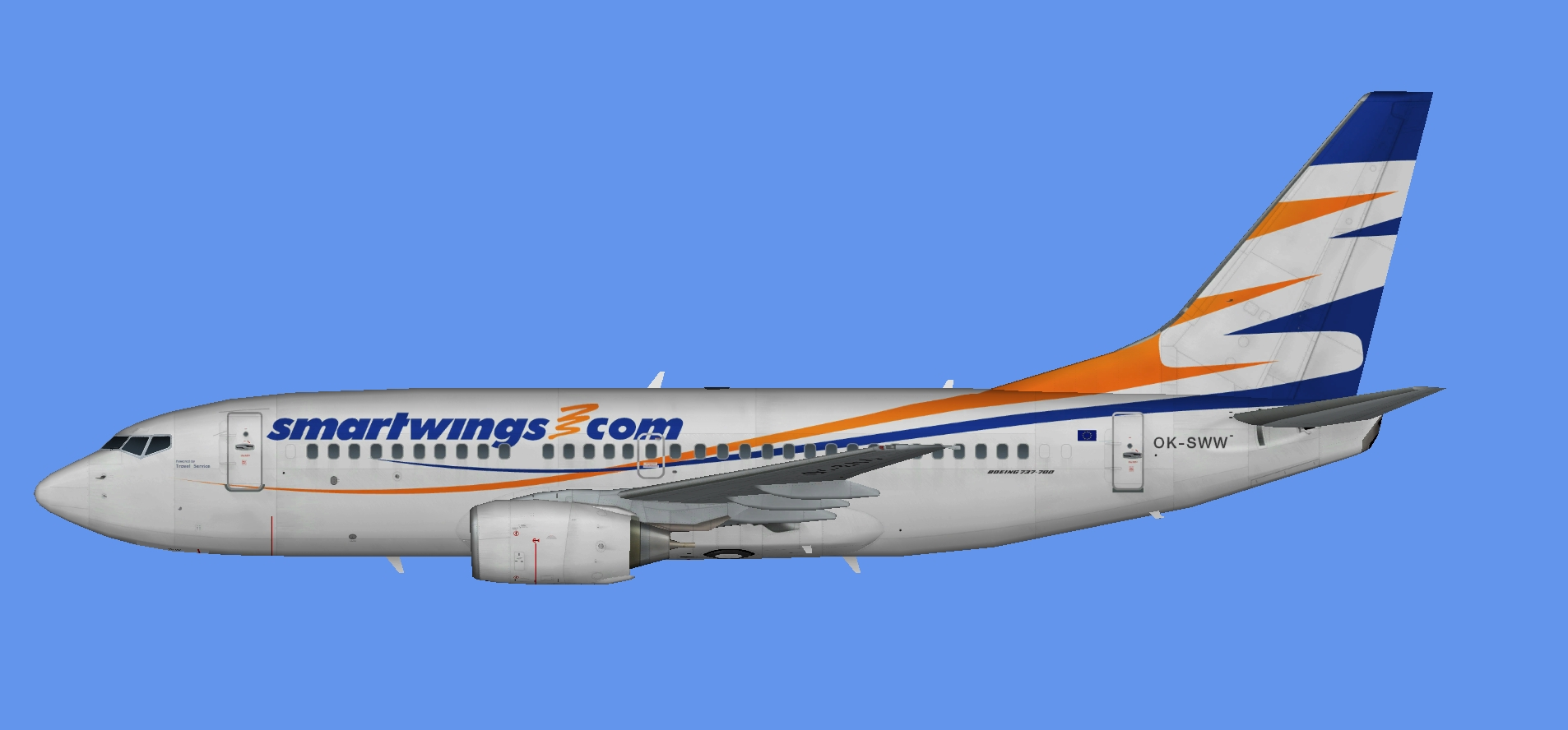 SmartWings Boeing 737-700