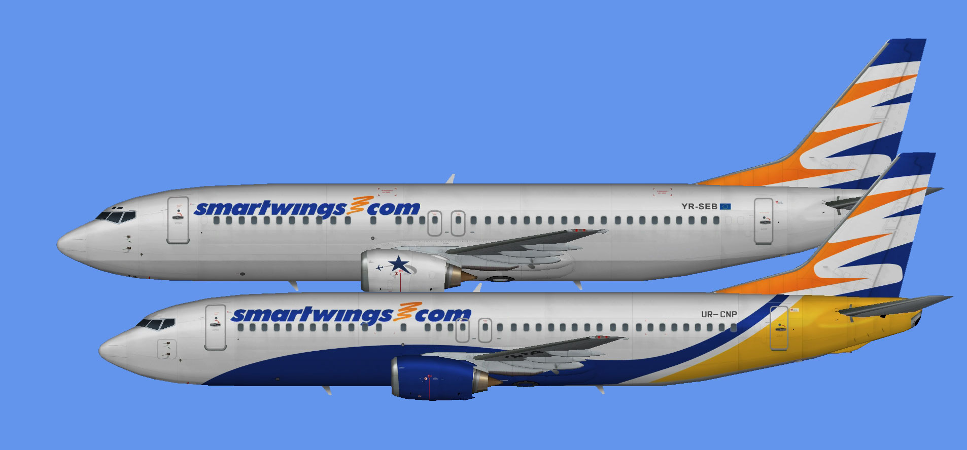 SmartWings 737-400 leases