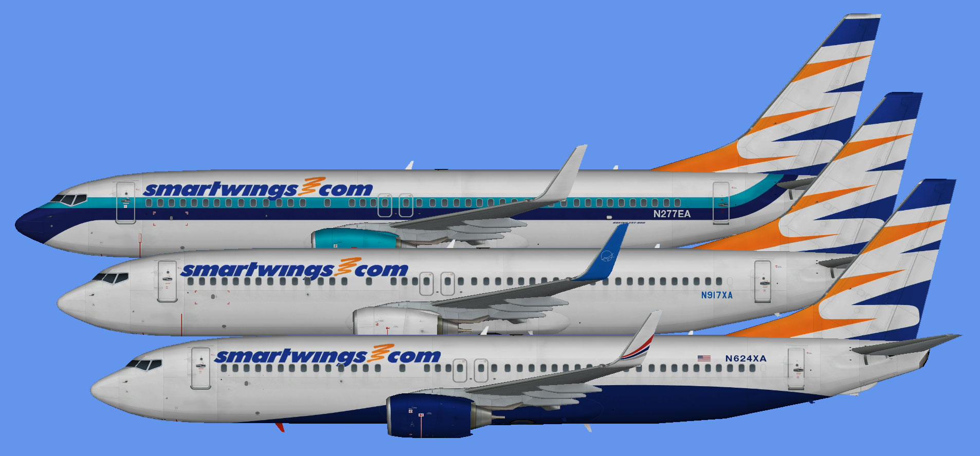 SmartWings 737-800 (Swift Air)