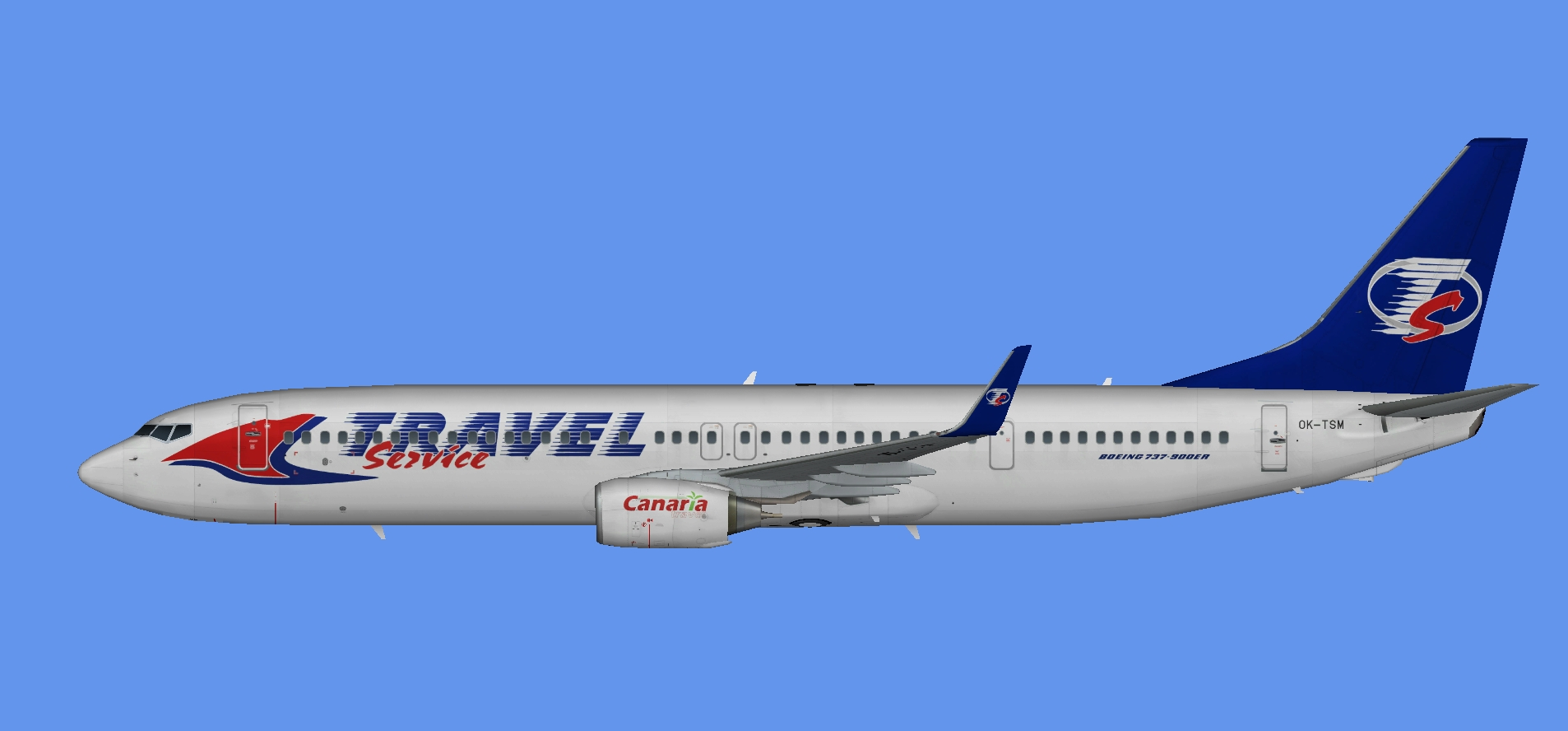 SmartWings Boeing 737-900