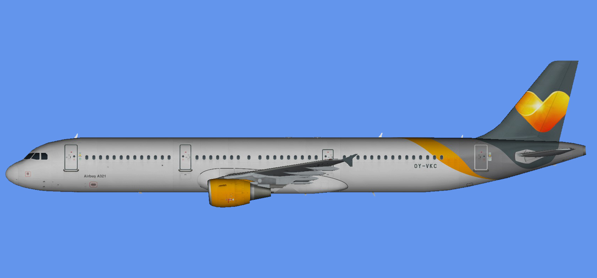 Sunclass Airlines Airbus A321