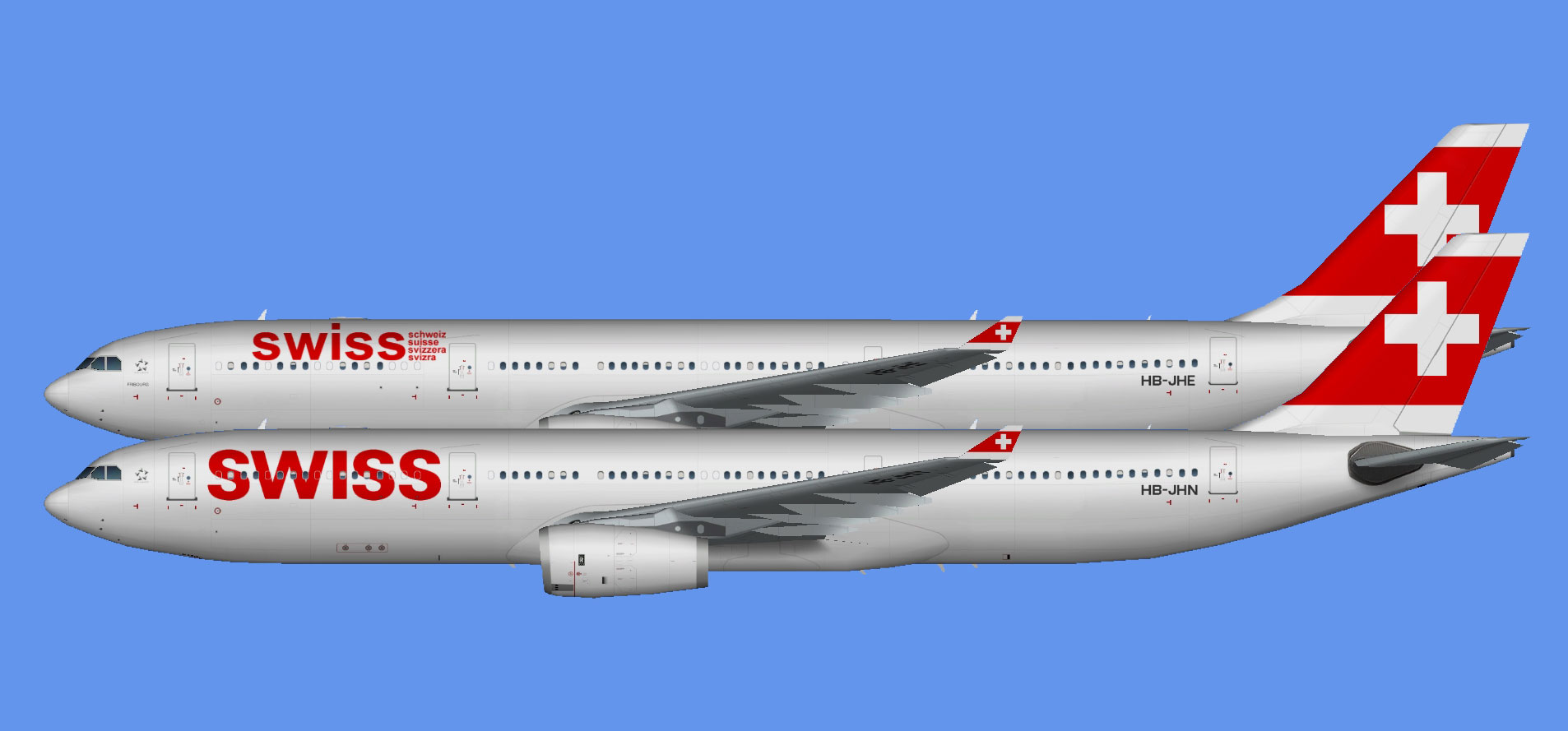 Swiss International Airbus A330-300 (TFS)