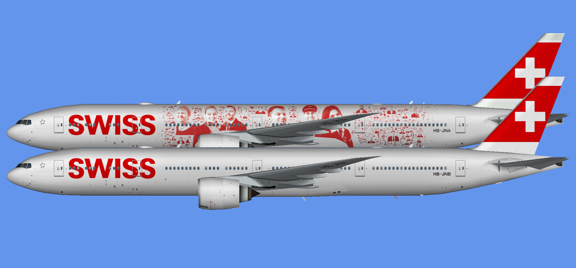 Swiss International Boeing 777-300ER (TFS)