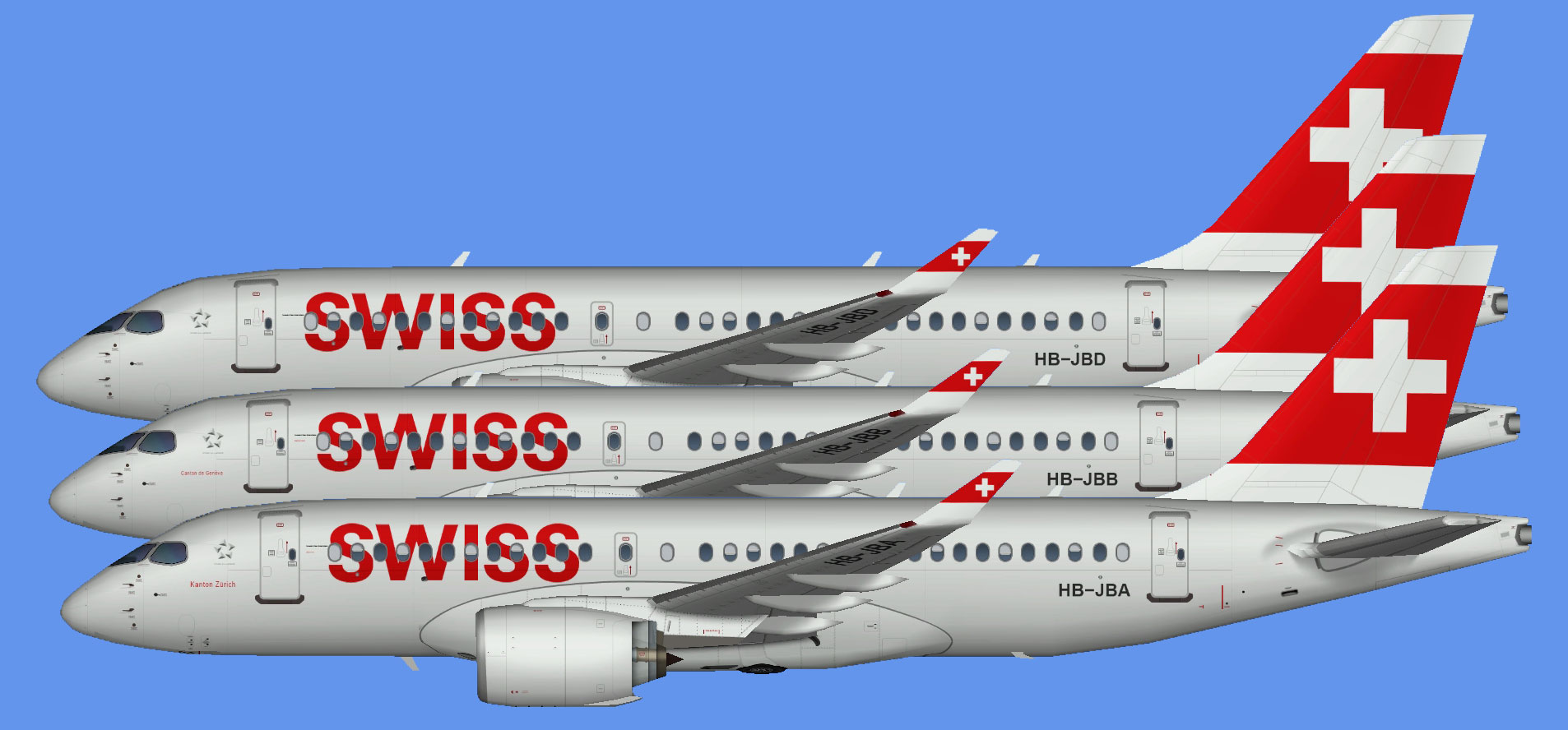 Swiss International Airbus A220-100 (SBAI)