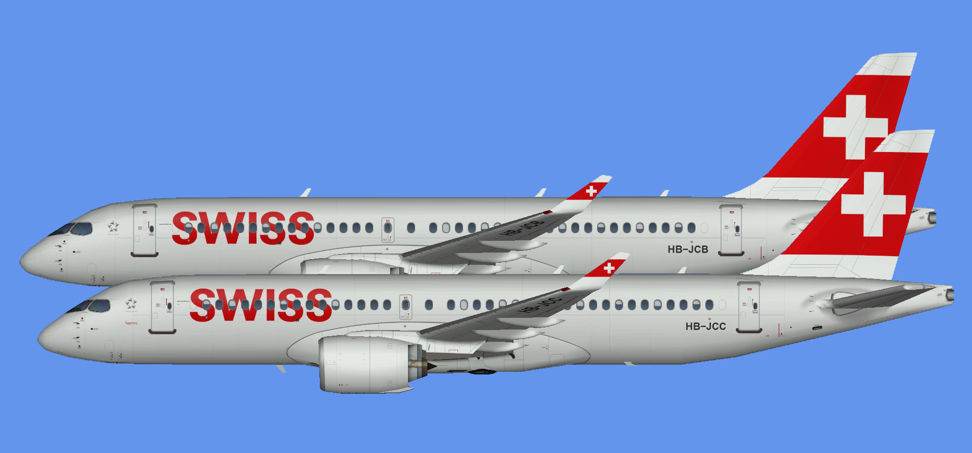 Swiss International Airbus A220-300 (SBAI)