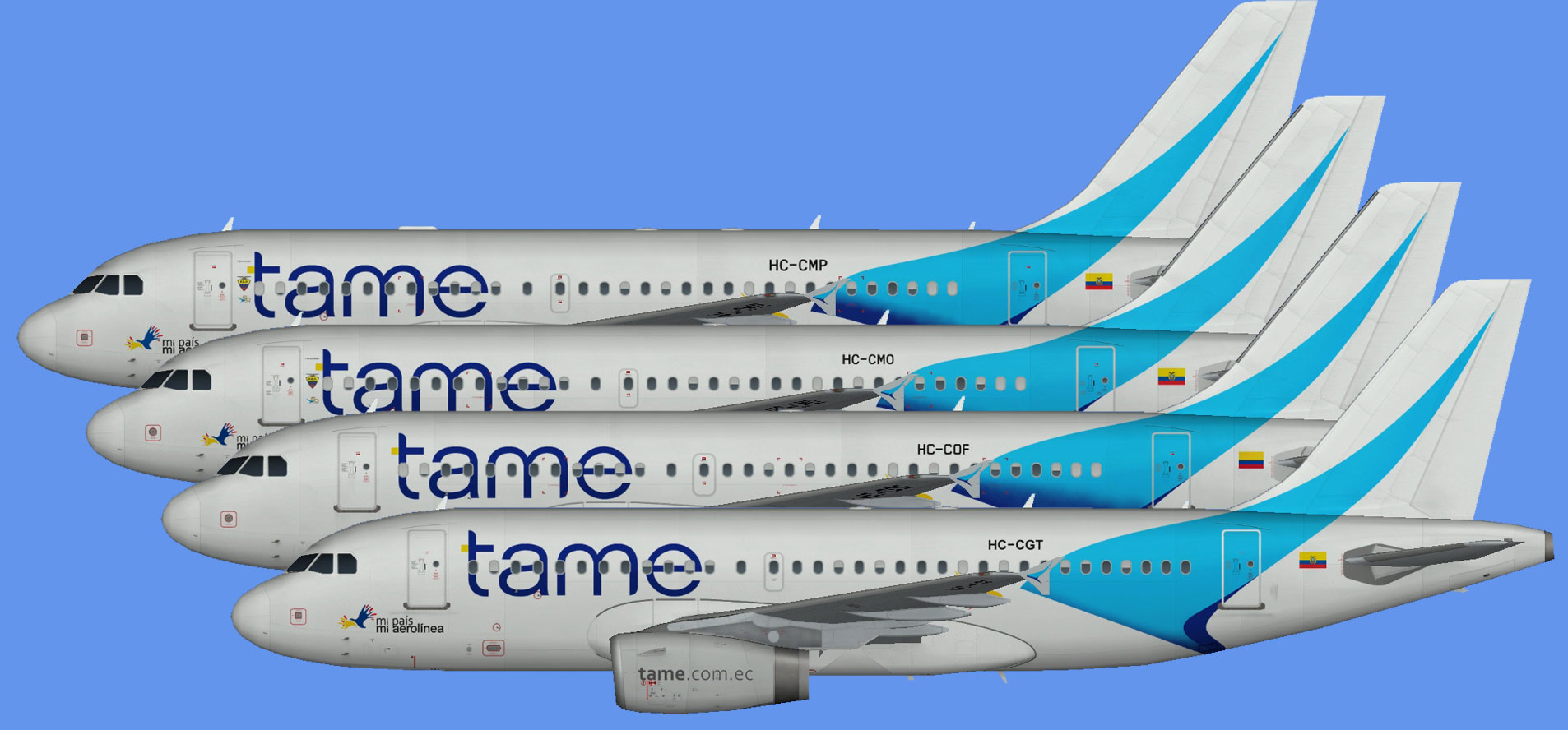 TAME Airbus A319