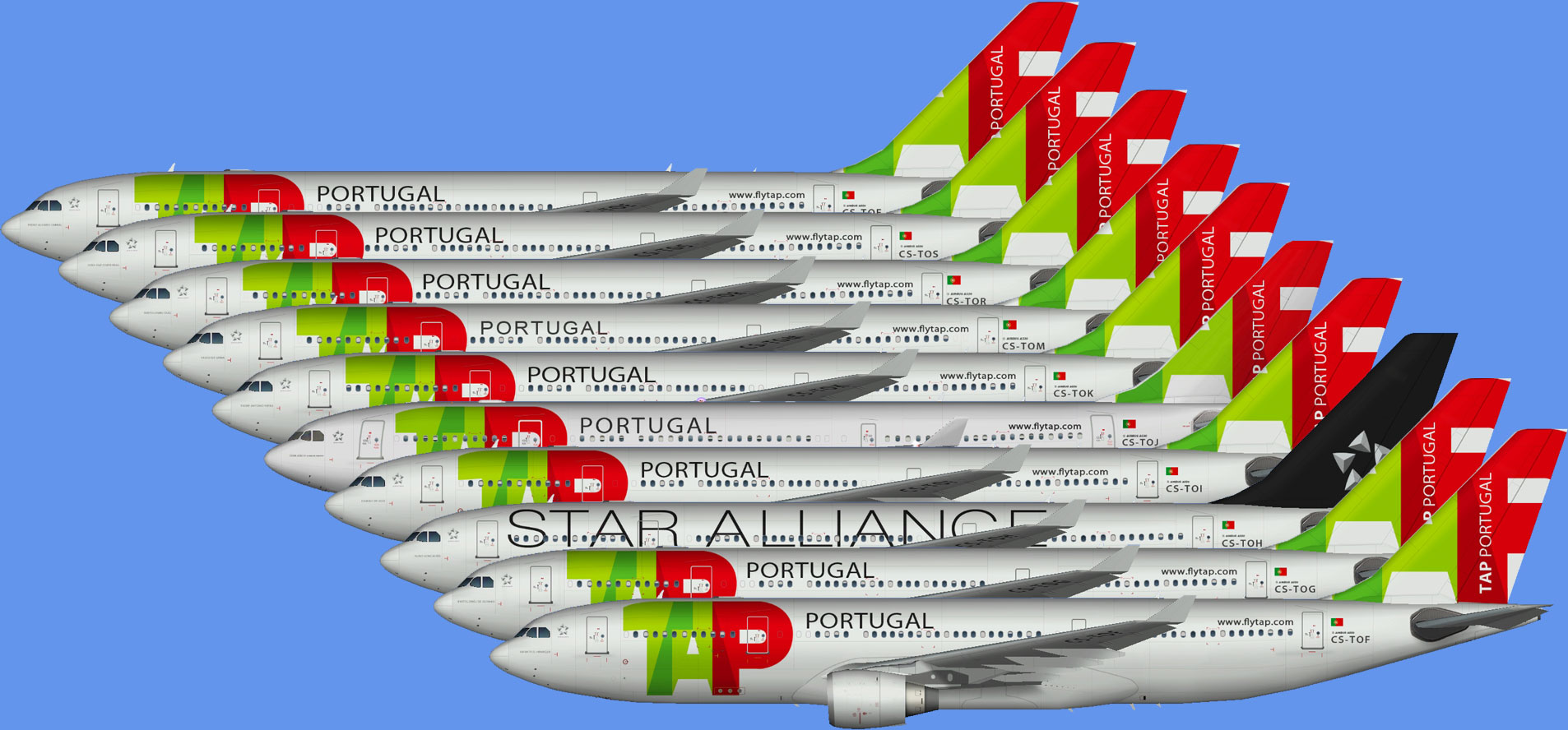 TAP Air Portugal A330-200 (TFS)