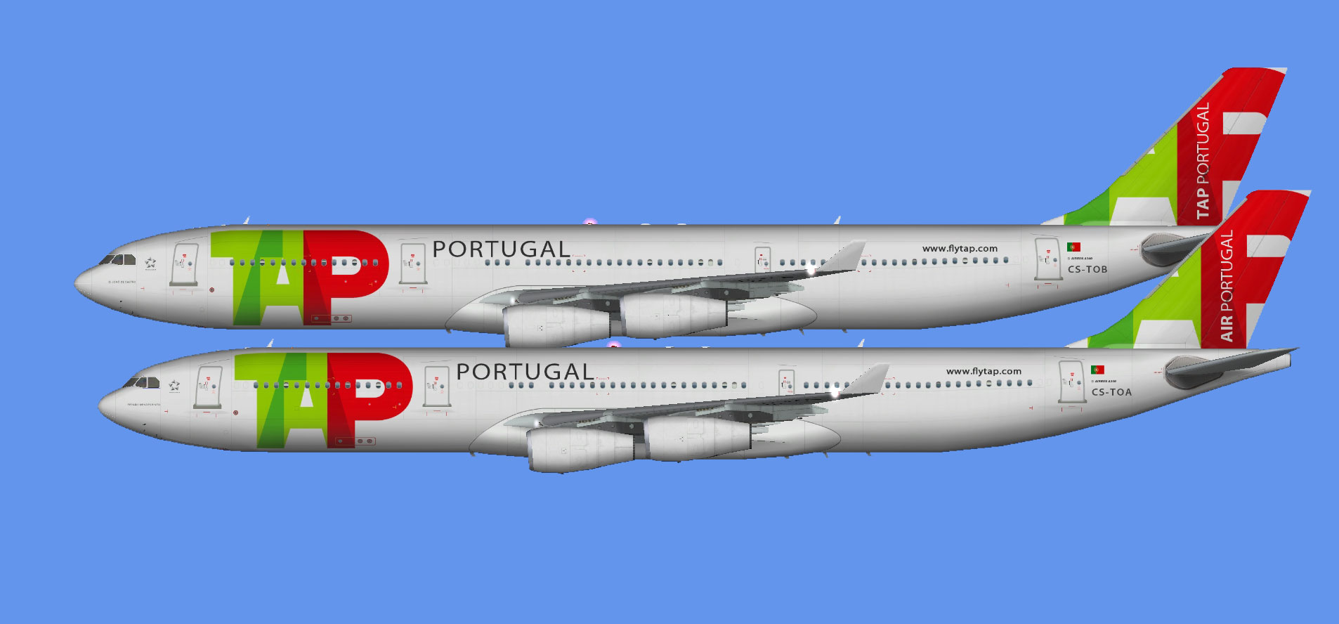 TAP Portugal Airbus A340 (FSP)