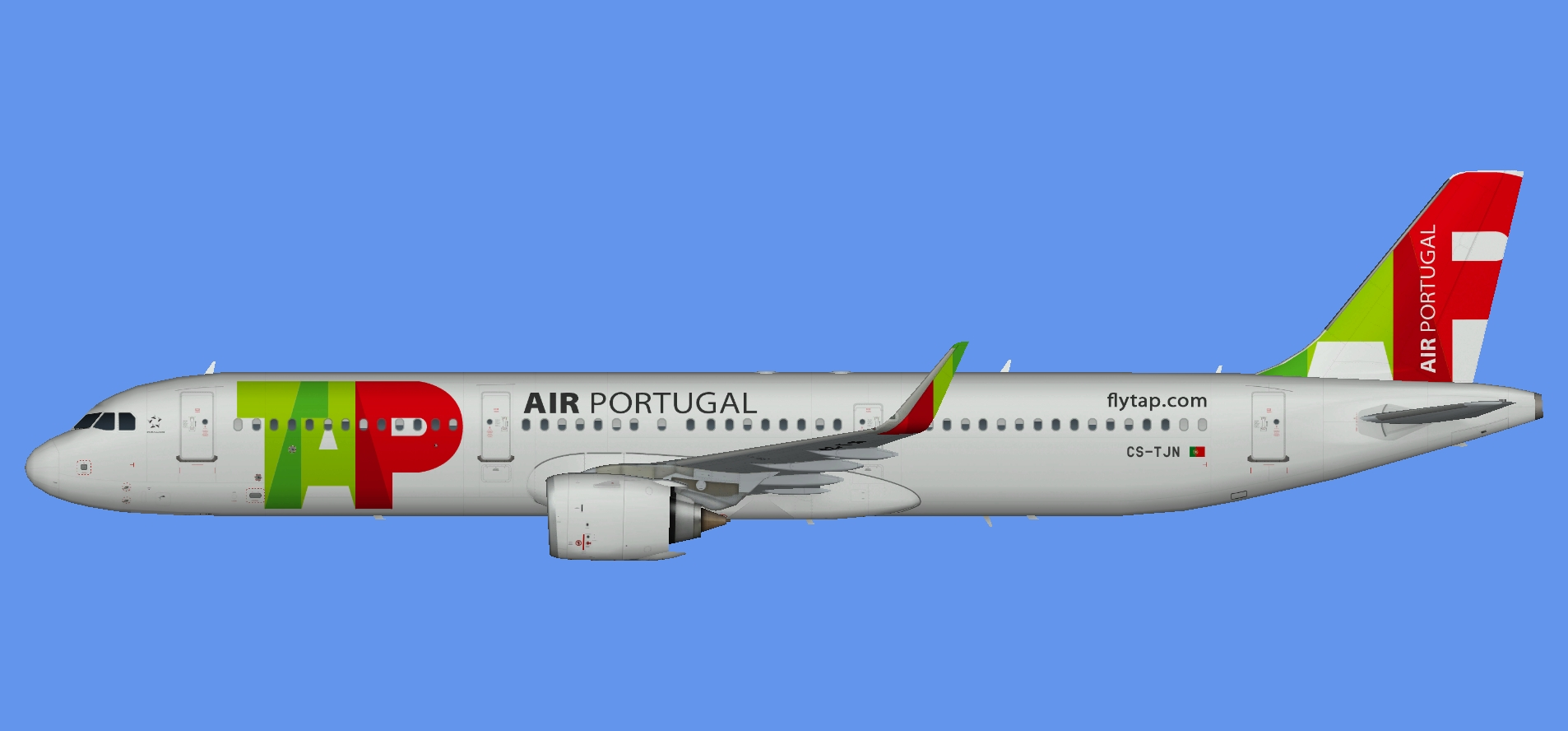 TAP Portugal A330NEO (FSP) - The Flying Carpet Hub