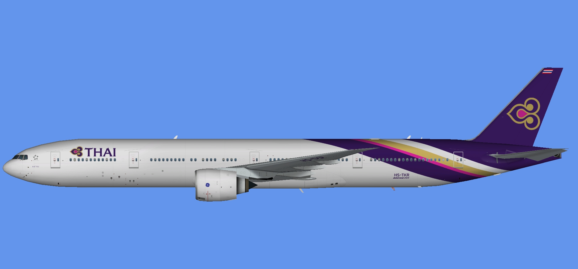 Thai Airways Boeing 777-300ER (TFS)