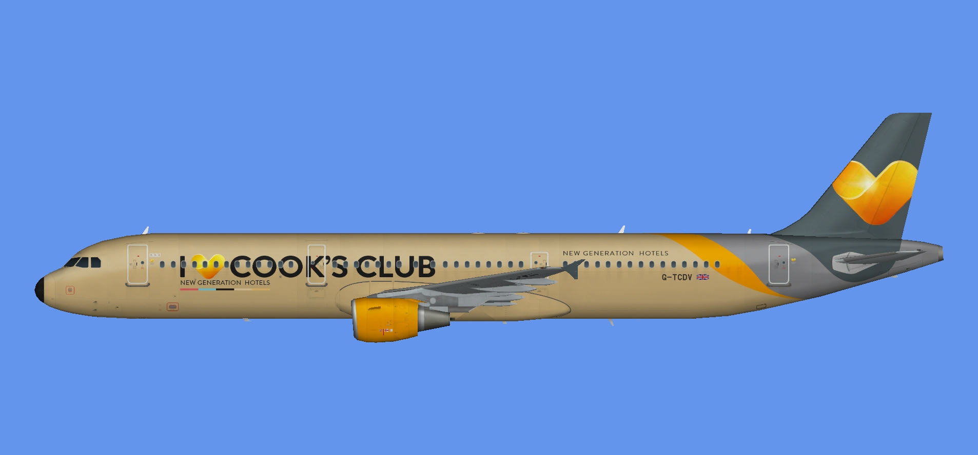 Thomas Cook A321 'Cook's Club'