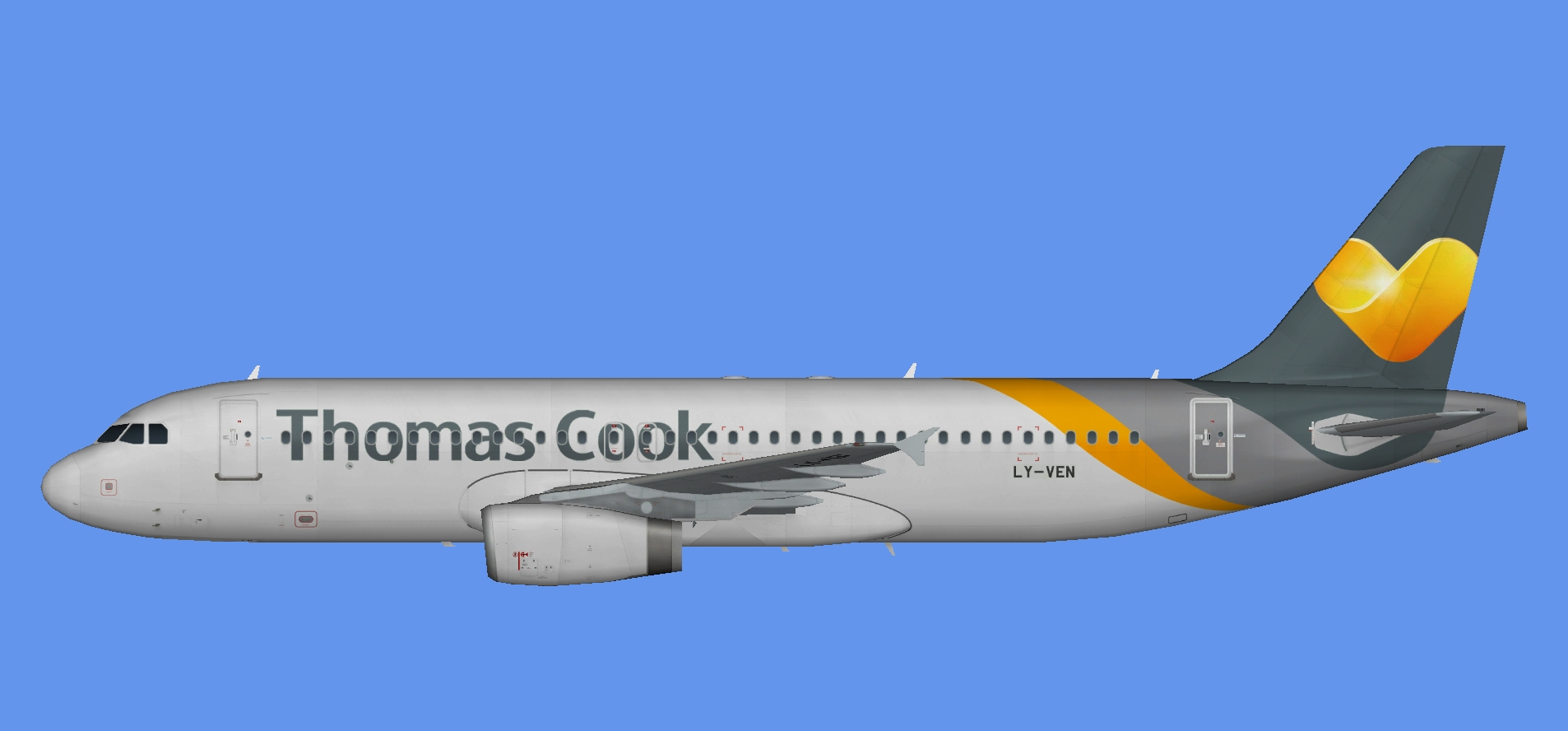 Thomas Cook A320 leases (IAE)